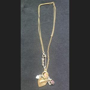 Juicy Couture Mini Charm Necklace
